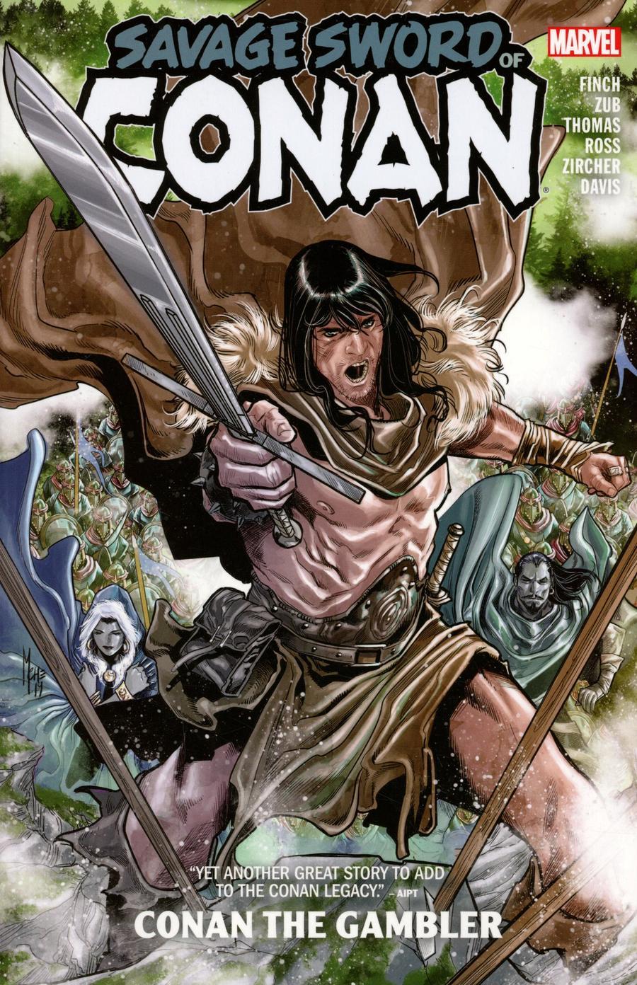 Savage Sword Of Conan Conan The Gambler TP