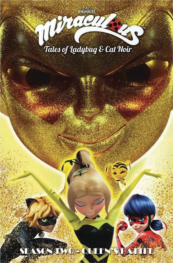 Miraculous Tales Of Ladybug And Cat Noir Season 2 Vol 12 Queens Battle TP