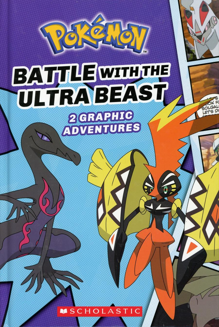 Pokemon Graphic Collection Vol 1 Battle With The Ultra Beast HC