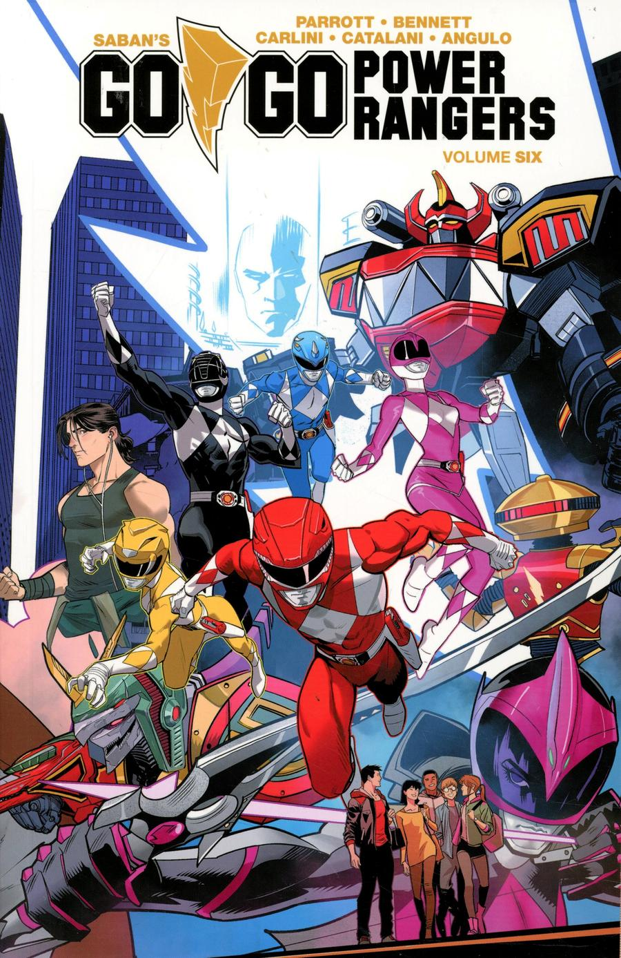 Sabans Go Go Power Rangers Vol 6 TP