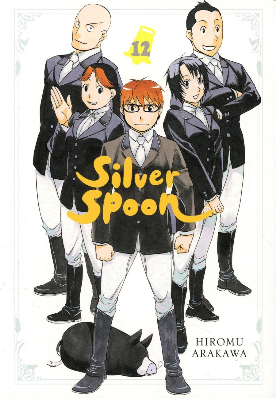 Silver Spoon Vol 12 GN