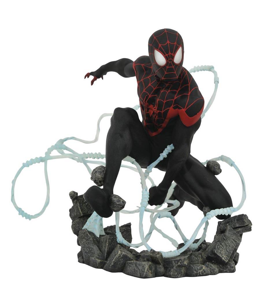 Marvel Comic Premier Collection Miles Morales Spider-Man Statue