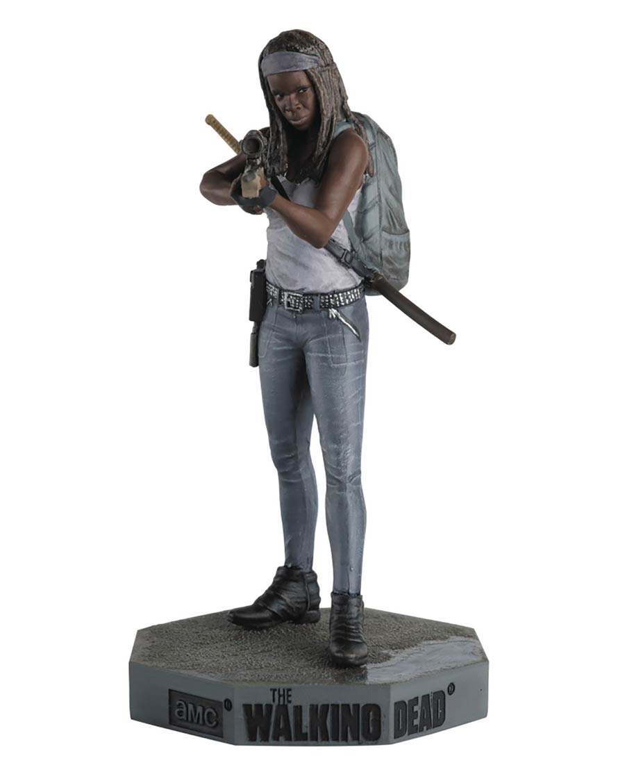 Walking Dead Figurine Collection Magazine #34 Michonne