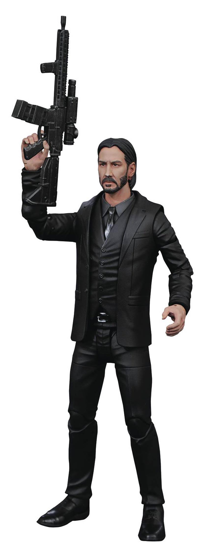 John Wick Select Black Suit Action Figure