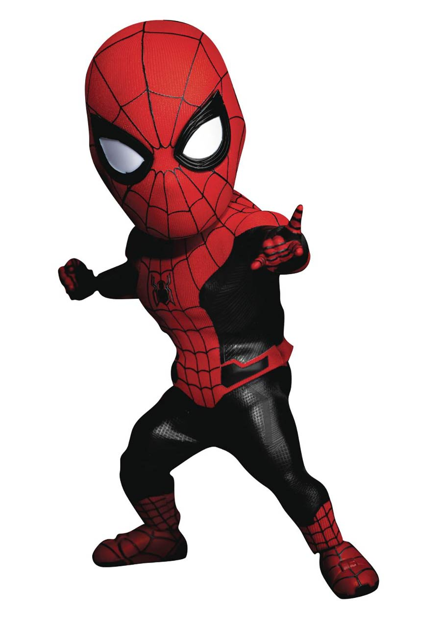 Spider-Man Far From Home EAA-099 Spider-Man Upgraded Previews Exclusive Action Figure