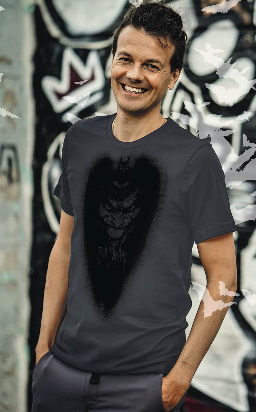 Batman Inside Joke T-Shirt Large