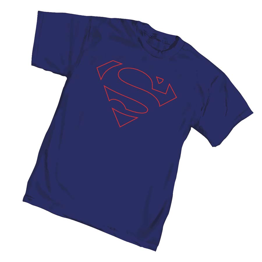 Superman Core Symbol T-Shirt Large