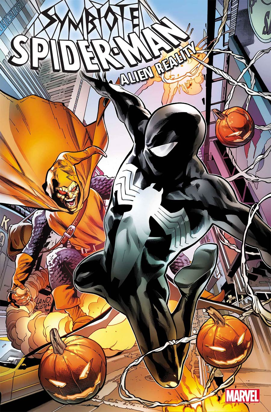 Symbiote Spider-Man Alien Reality #1 By Greg Land Poster