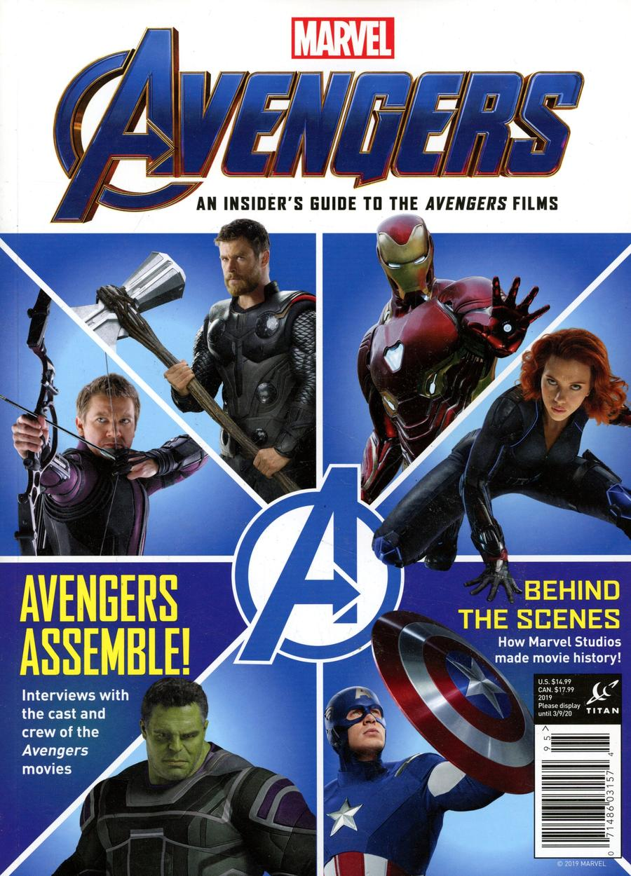 Marvel Studios Avengers A Complete Guide To The Movies Magazine Newsstand Edition