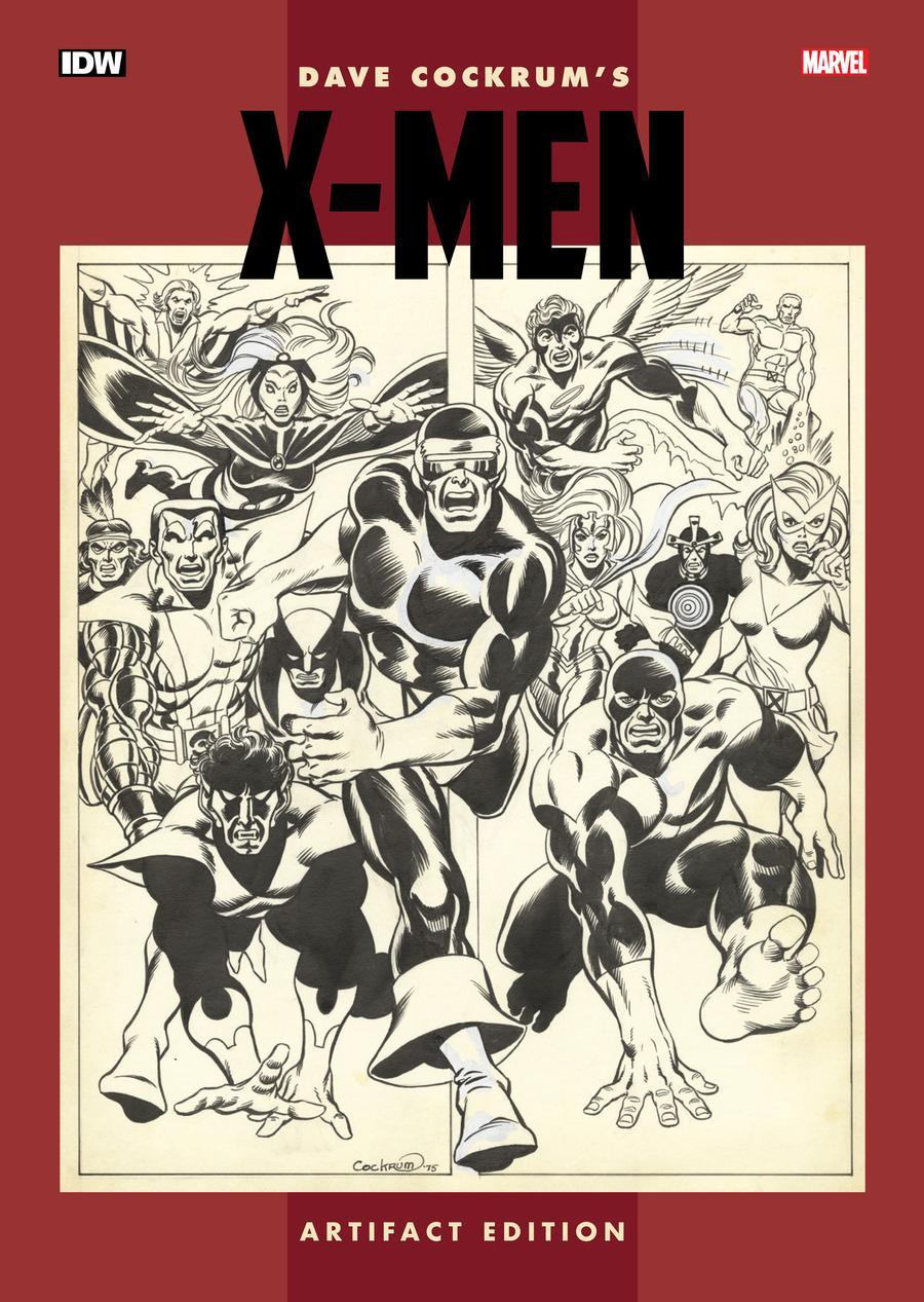 Dave Cockrums X-Men Artifact Edition HC