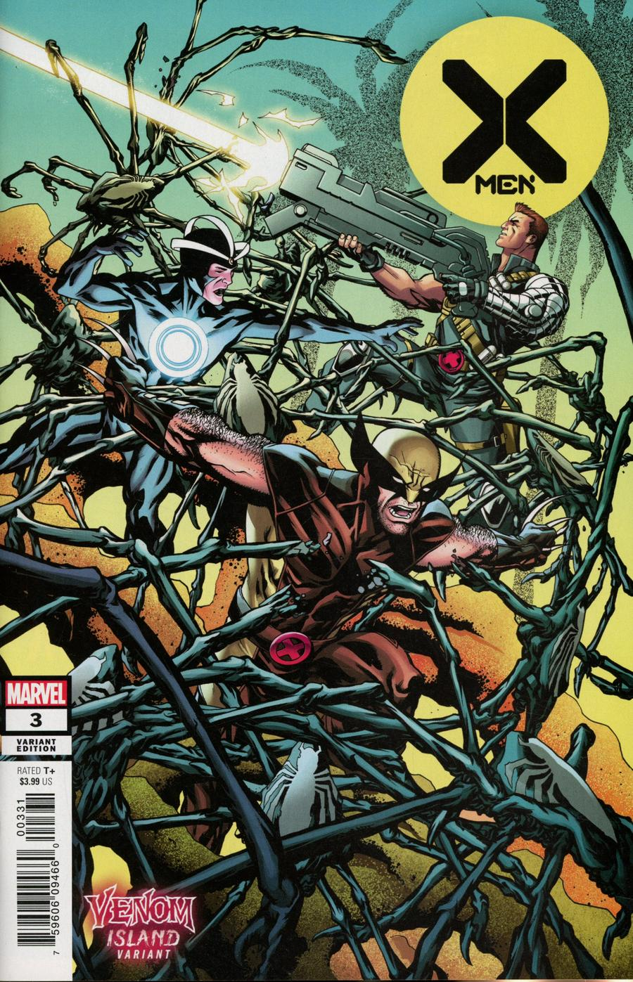 X-Men Vol 5 #3 Cover B Variant Mike McKone Venom Island Cover (Dawn Of X Tie-In)