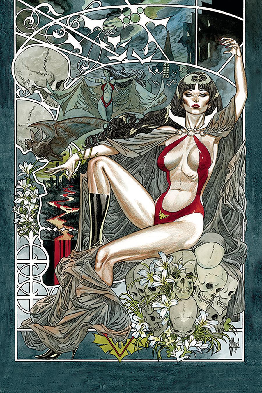 Vampirella Vol 8 #6 Cover R Incentive Guillem March Virgin Cover