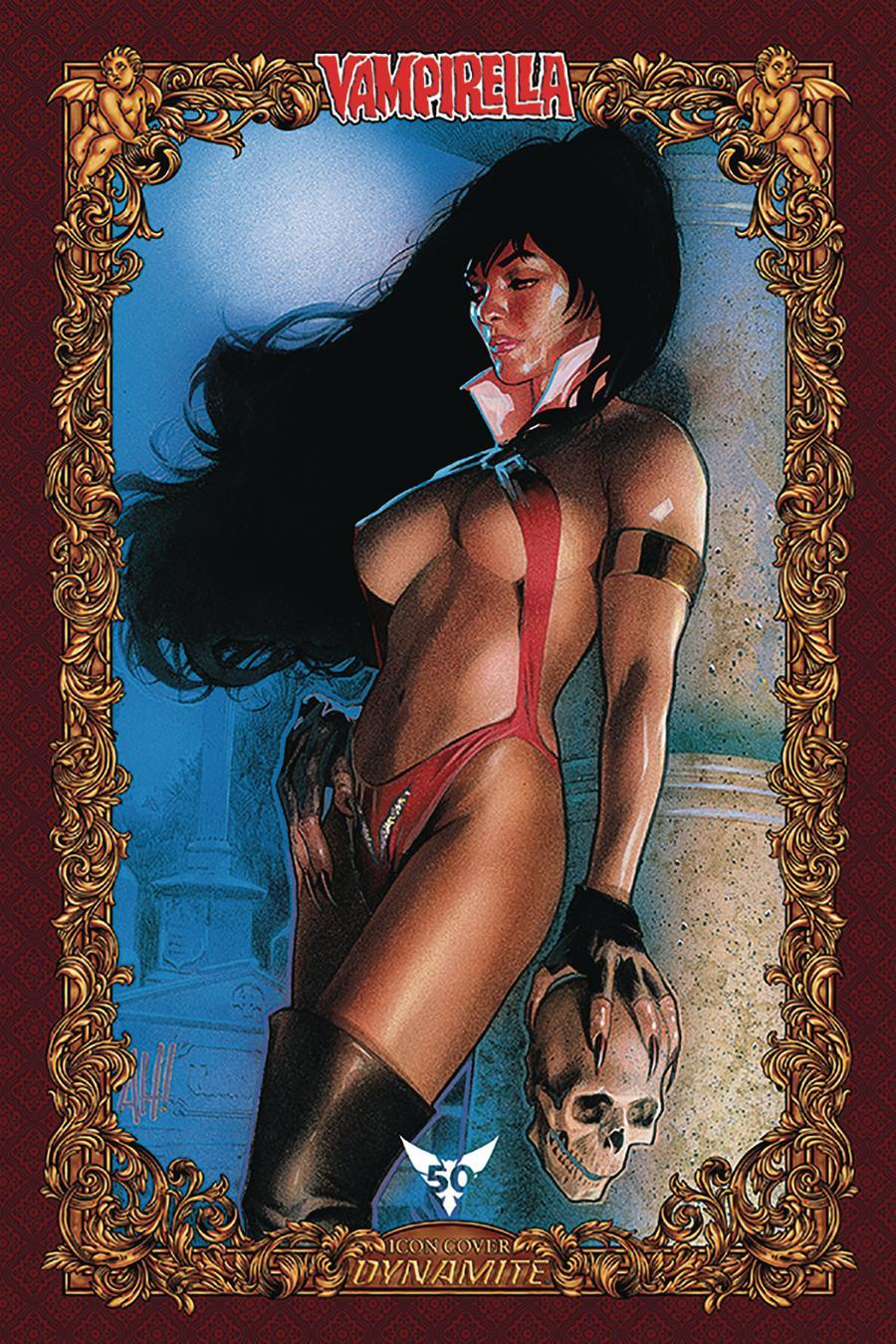Vampirella Vol 8 #6 Cover T Incentive Adam Hughes Icon Edition Variant Cover