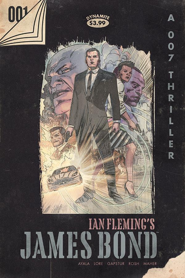 James Bond Vol 3 #1 Cover F Incentive Jim Cheung Vintage Paperback Cover