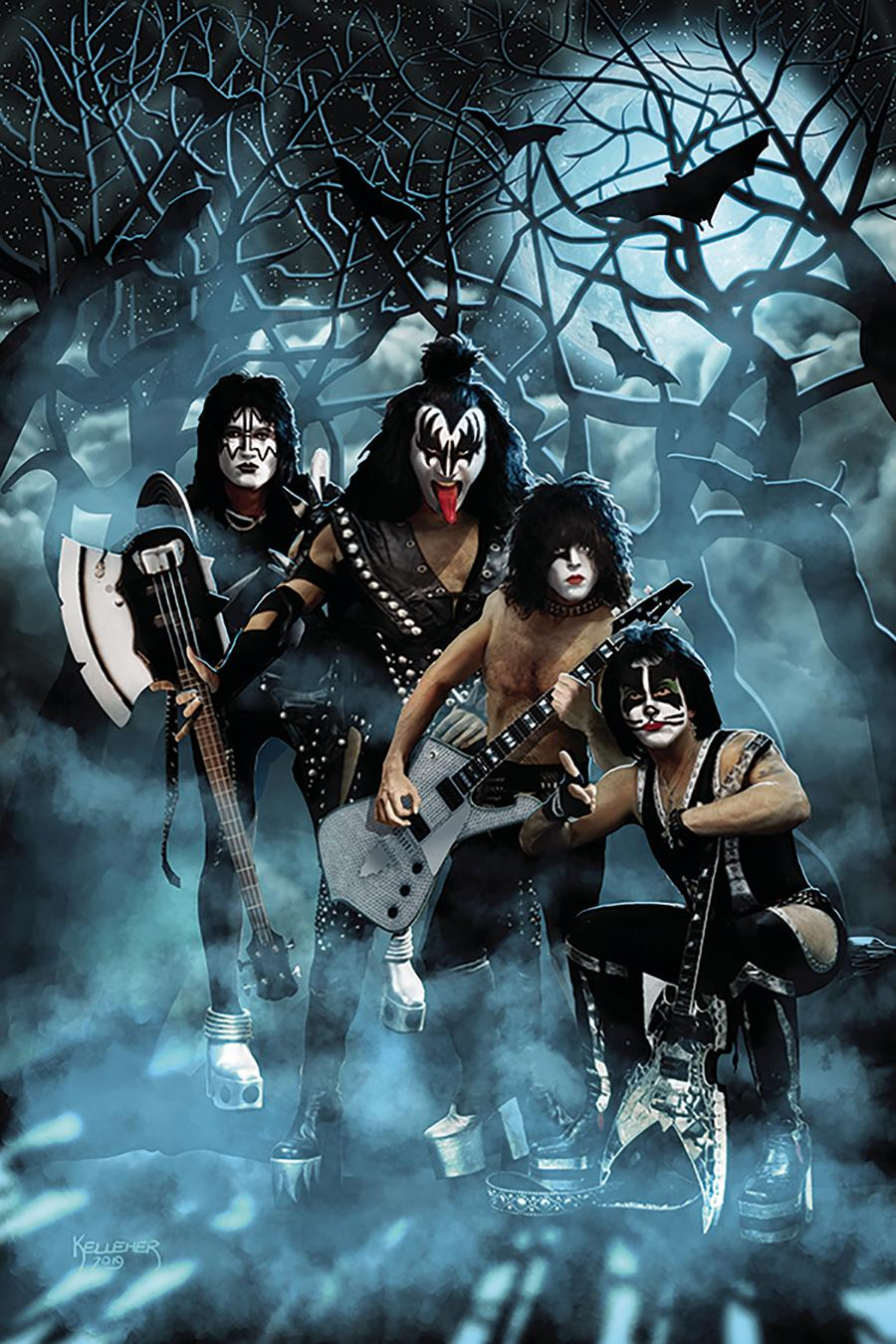 KISS Zombies #2 Cover F Incentive Photo Virgin Cover