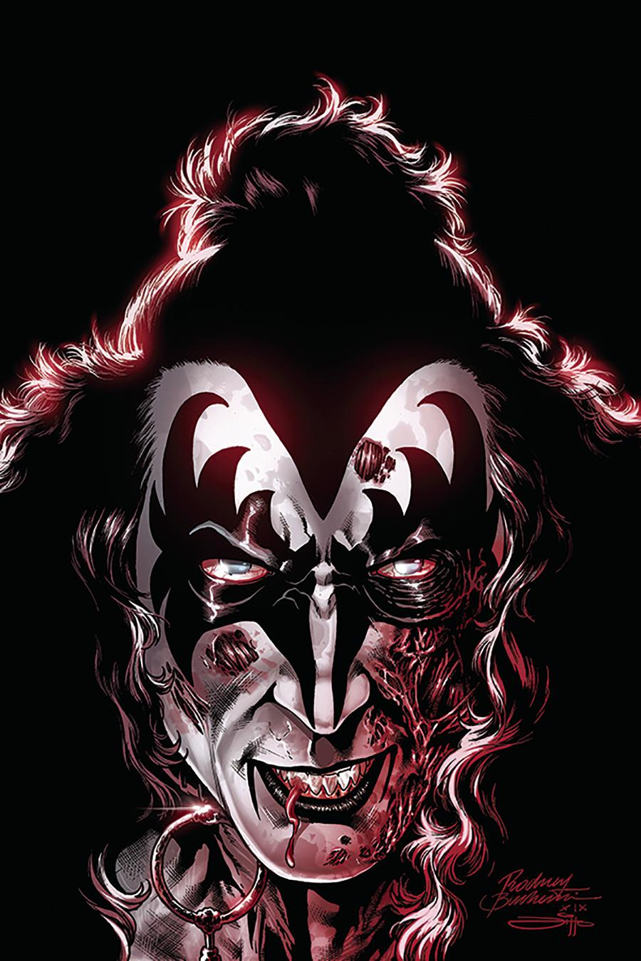 KISS Zombies #2 Cover I Incentive Rodney Buchemi Virgin Cover