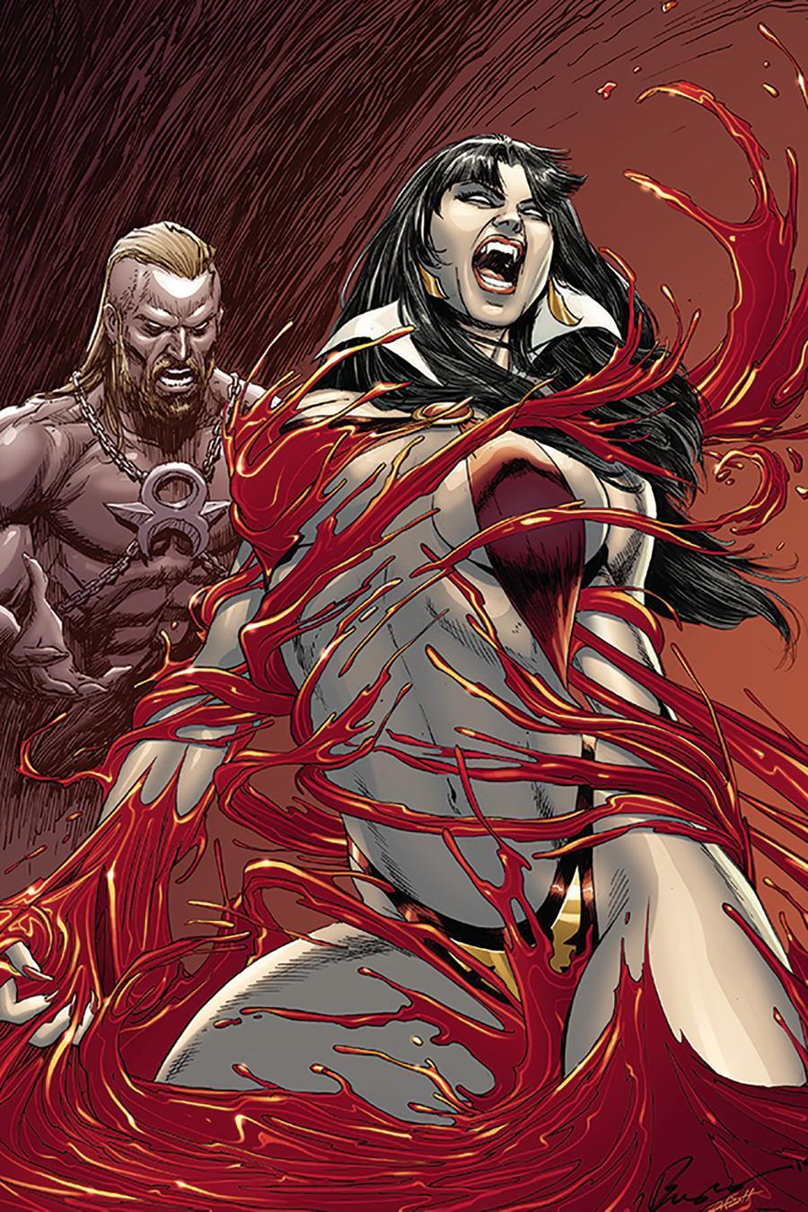 Vengeance Of Vampirella Vol 2 #3 Cover G Incentive Buzz & Dash Martin Virgin Cover
