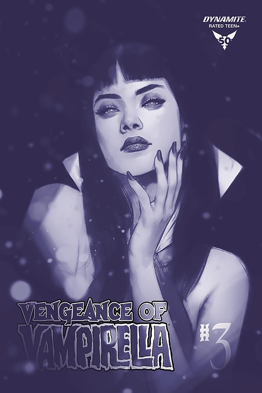 Vengeance Of Vampirella Vol 2 #3 Cover N Incentive Ben Oliver Tinted Cover