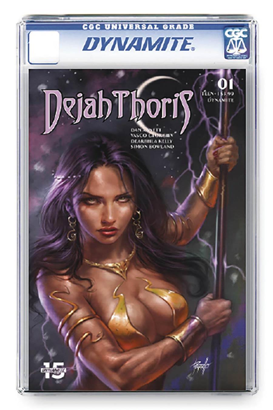 Dejah Thoris Vol 3 #1 Cover X Regular Lucio Parrillo Cover CGC Graded