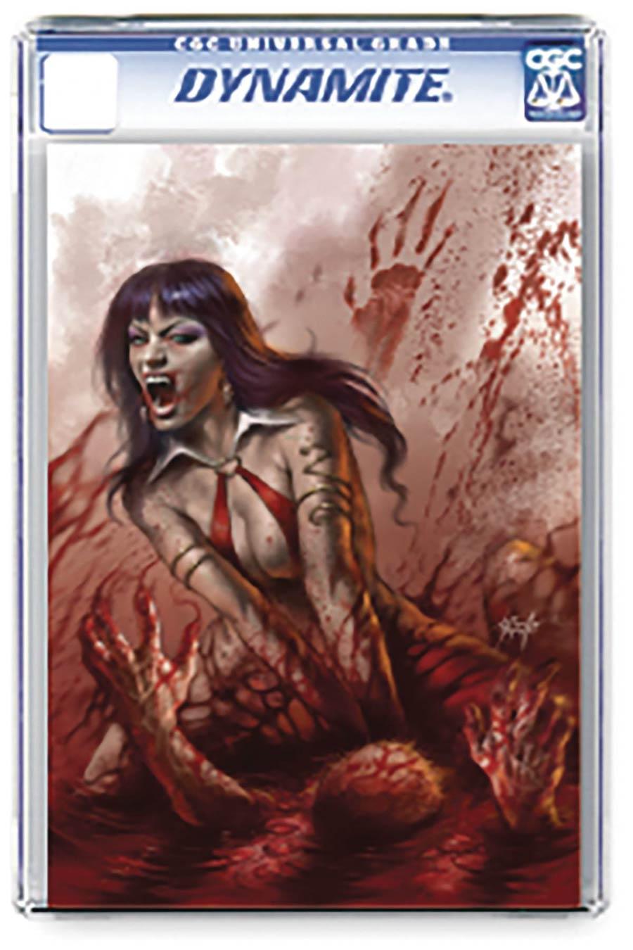 Vengeance Of Vampirella Vol 2 #3 Cover Q Regular Lucio Parrillo Cover CGC Graded