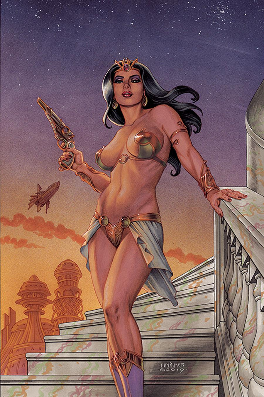 Dejah Thoris Vol 3 #1 Cover S Limited Edition Joseph Michael Linsner Virgin Cover