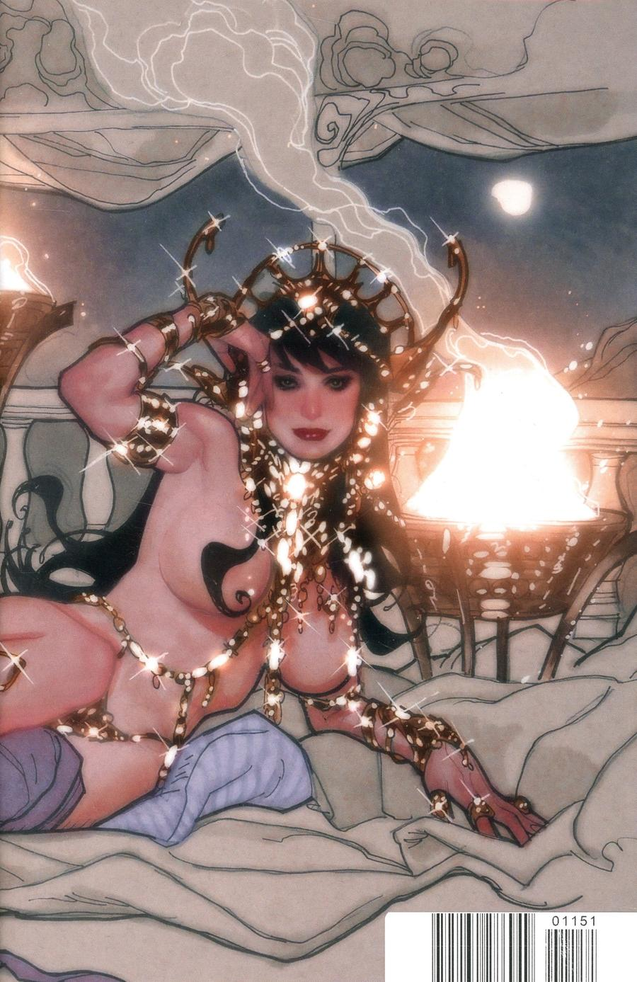 Dejah Thoris Vol 3 #1 Cover T Limited Edition Adam Hughes Wraparound Virgin Cover