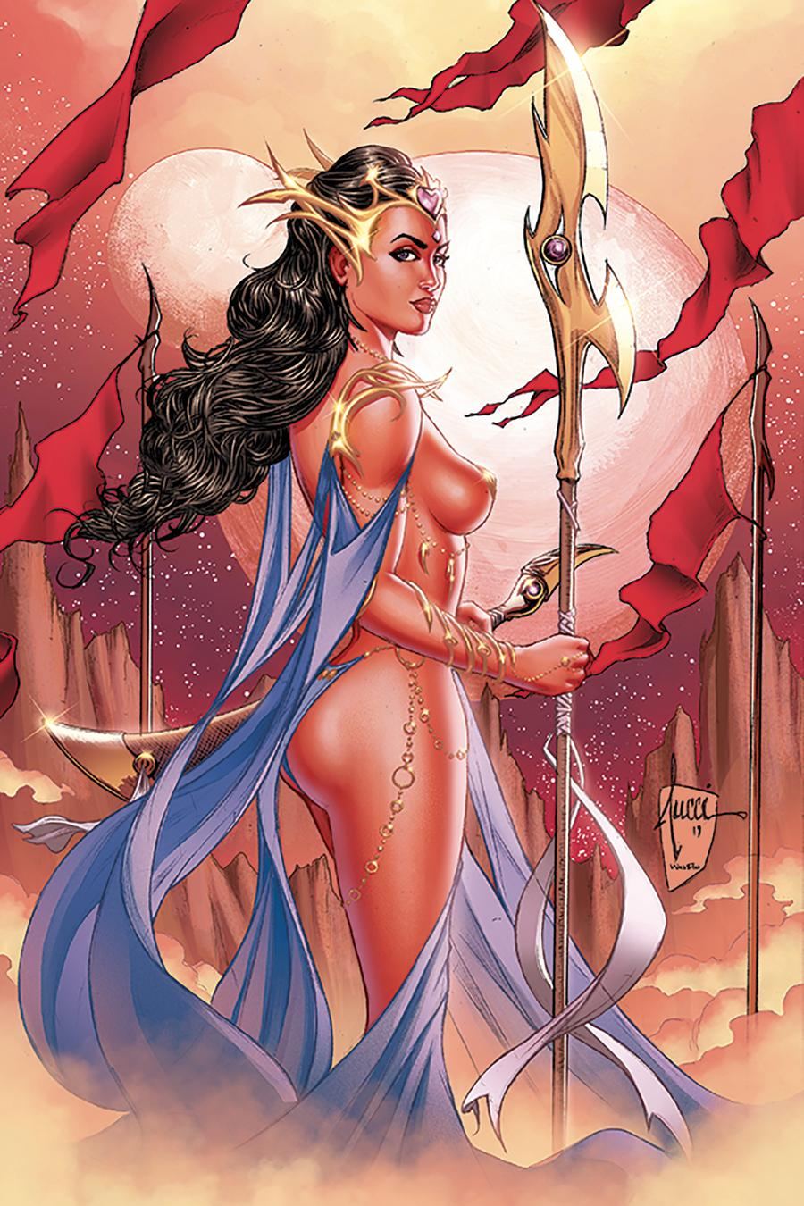 Dejah Thoris Vol 3 #1 Cover U Limited Edition Billy Tucci Virgin Cover