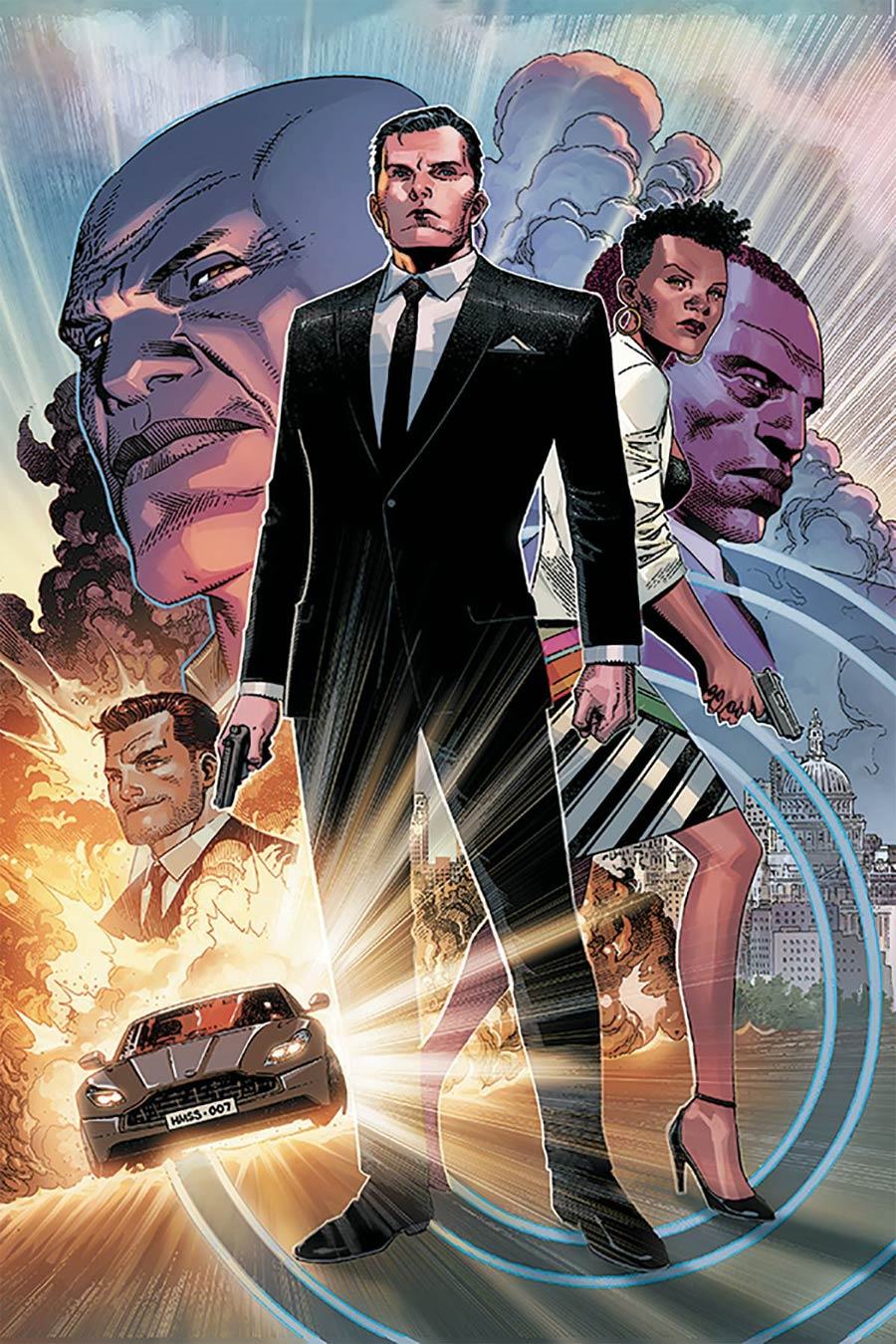 James Bond Vol 3 #1 Cover H Limited Edition Jim Cheung Virgin Cover