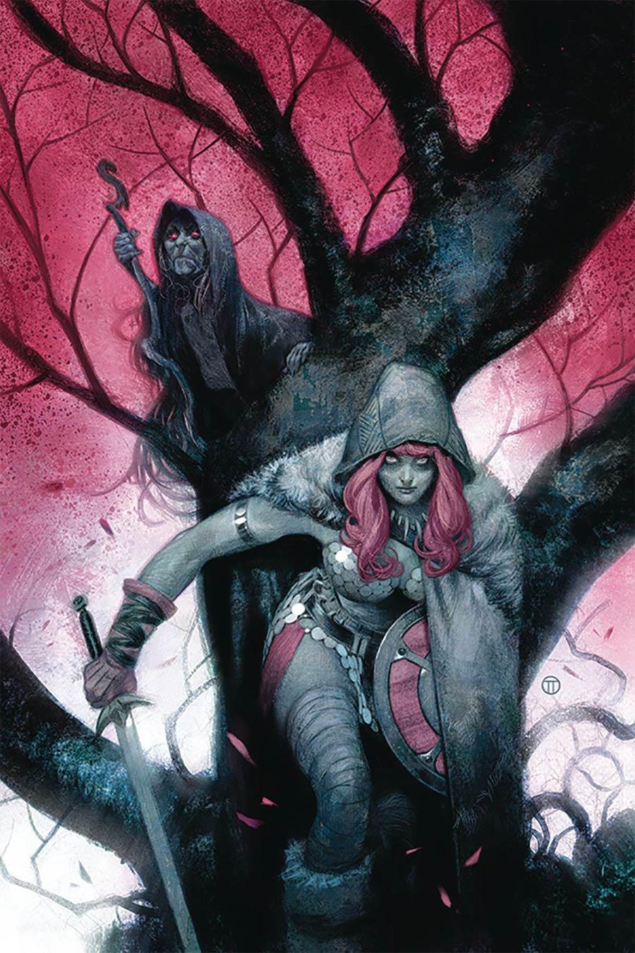 Vampirella Red Sonja #4 Cover O Limited Edition Julian Totino Tedesco Virgin Cover