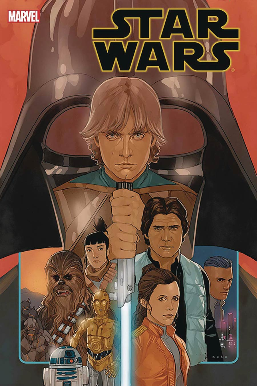 Star Wars Vol 4 #75 Cover E DF Signed By Greg Pak