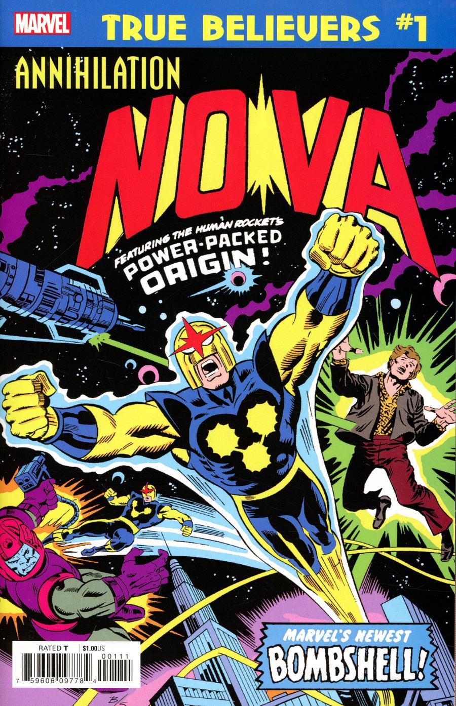 True Believers Annihilation Nova #1