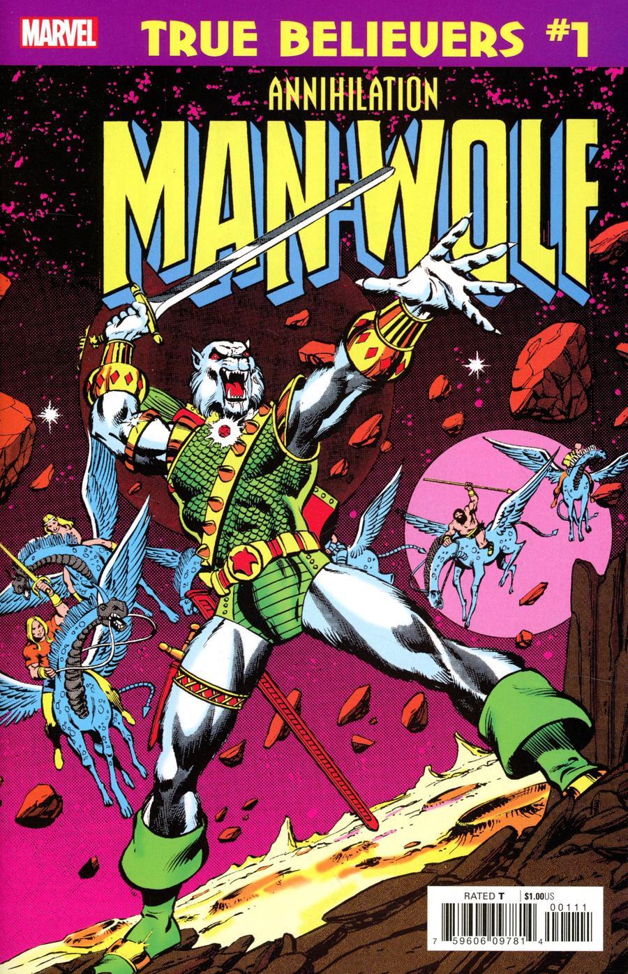 True Believers Annihilation Man-Wolf In Space #1