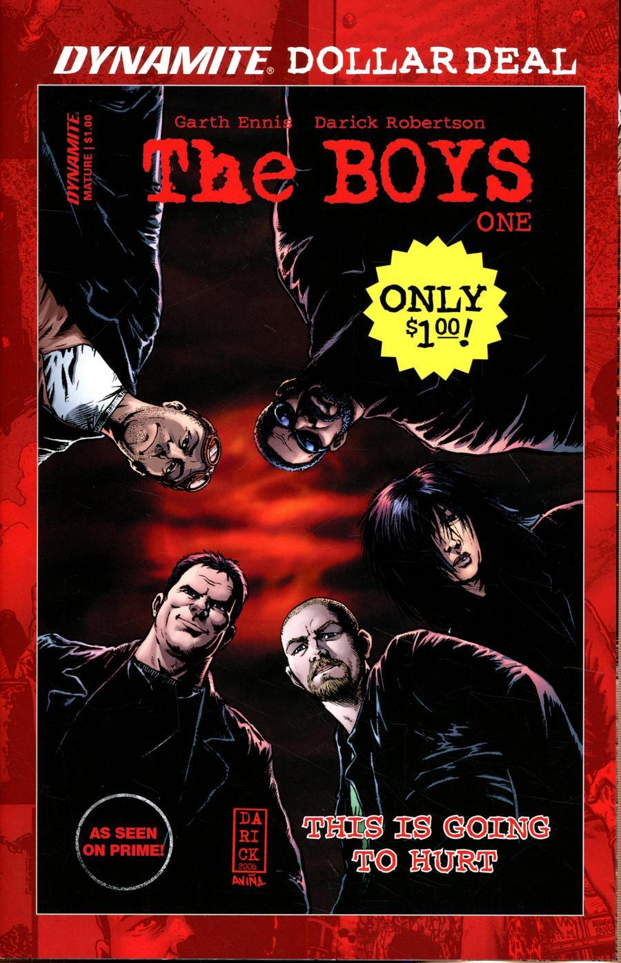 Boys #1 Cover C Dynamite Dollar Edition