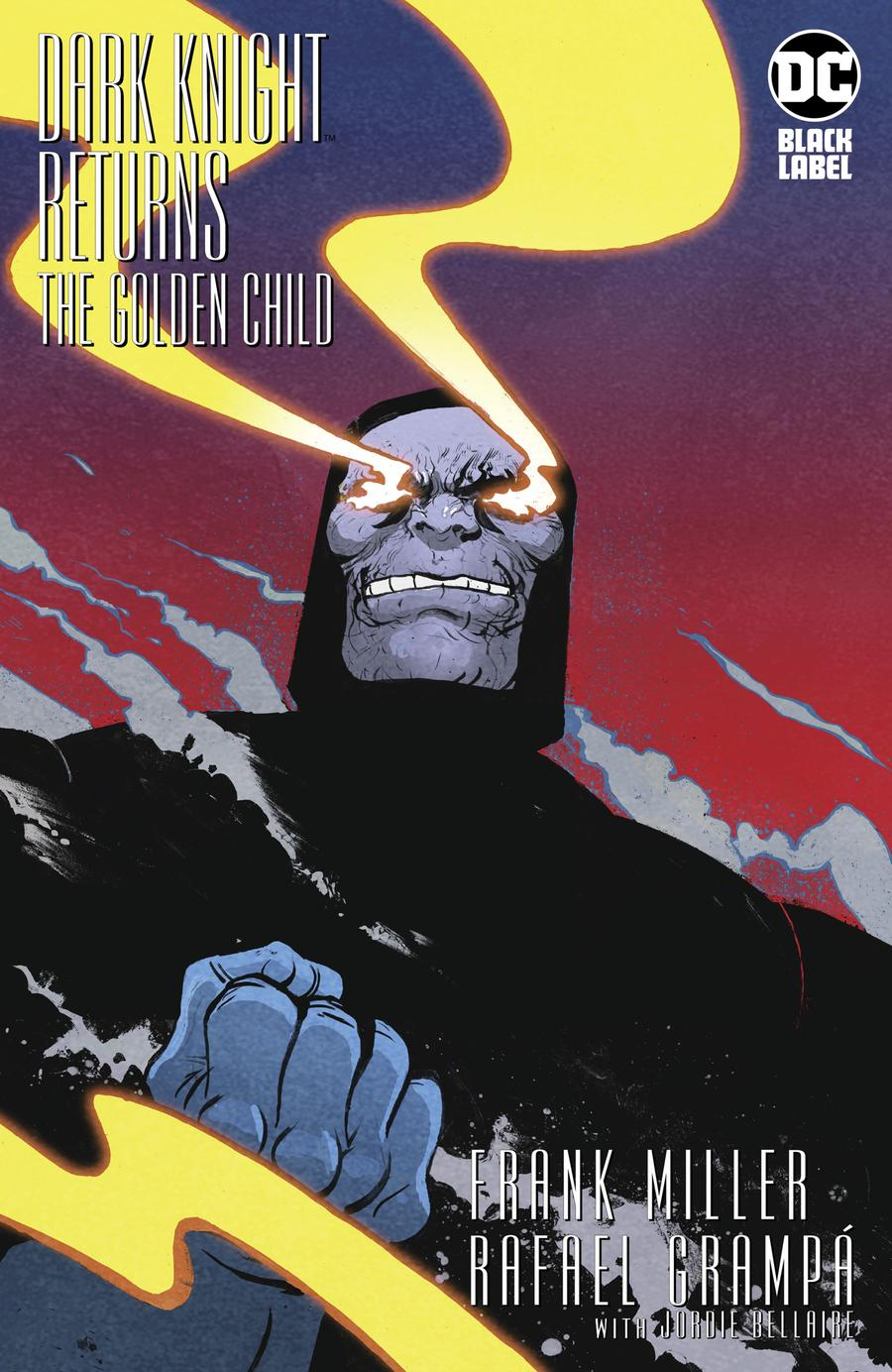 Dark Knight Returns The Golden Child #1 Cover C Incentive Paul Pope Variant Cover