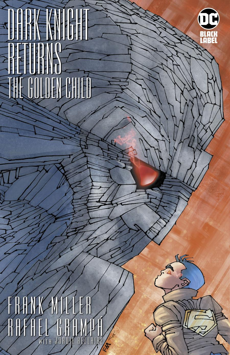 Dark Knight Returns The Golden Child #1 Cover E Incentive Frank Miller Variant Cover
