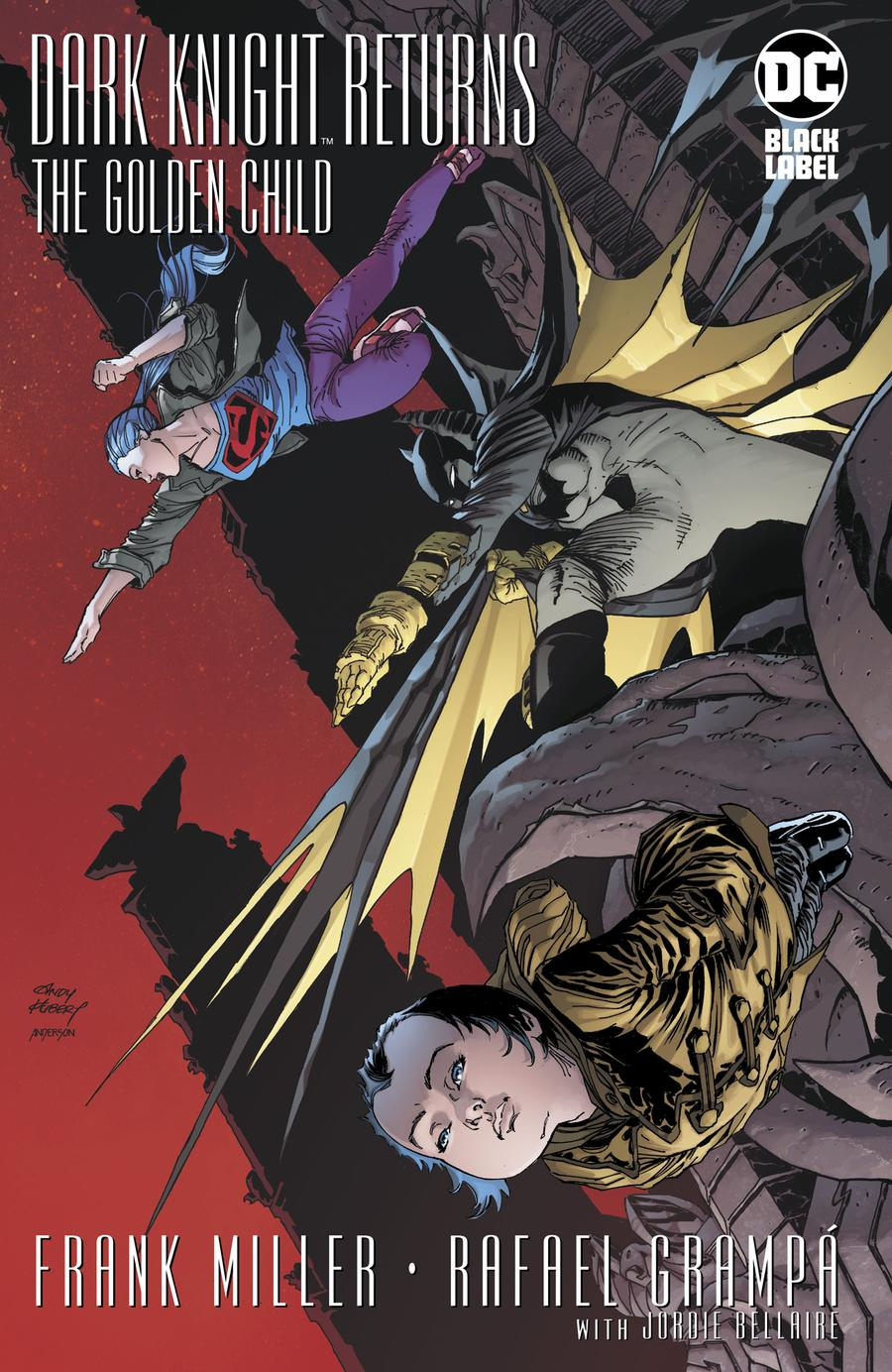 Dark Knight Returns The Golden Child #1 Cover F Incentive Andy Kubert Variant Cover
