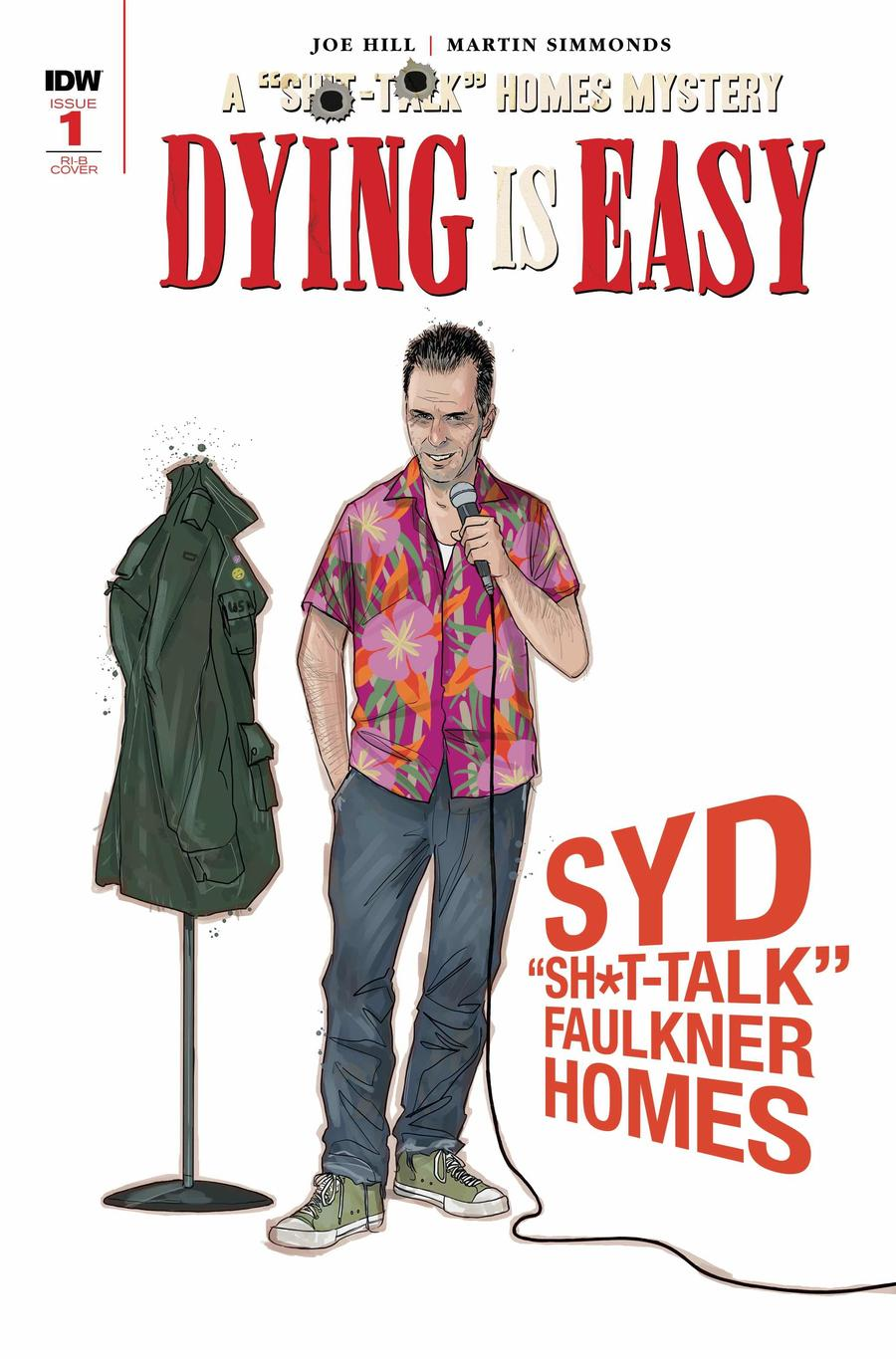Dying Is Easy #1 Cover D Incentive Martin Simmonds Character Design Wraparound Variant Cover
