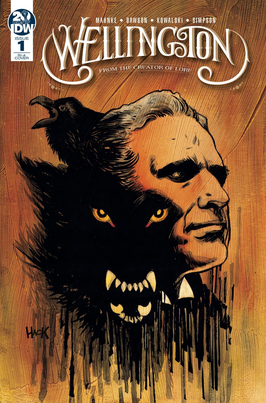 Wellington #1 Cover B Incentive Robert Hack Variant Cover