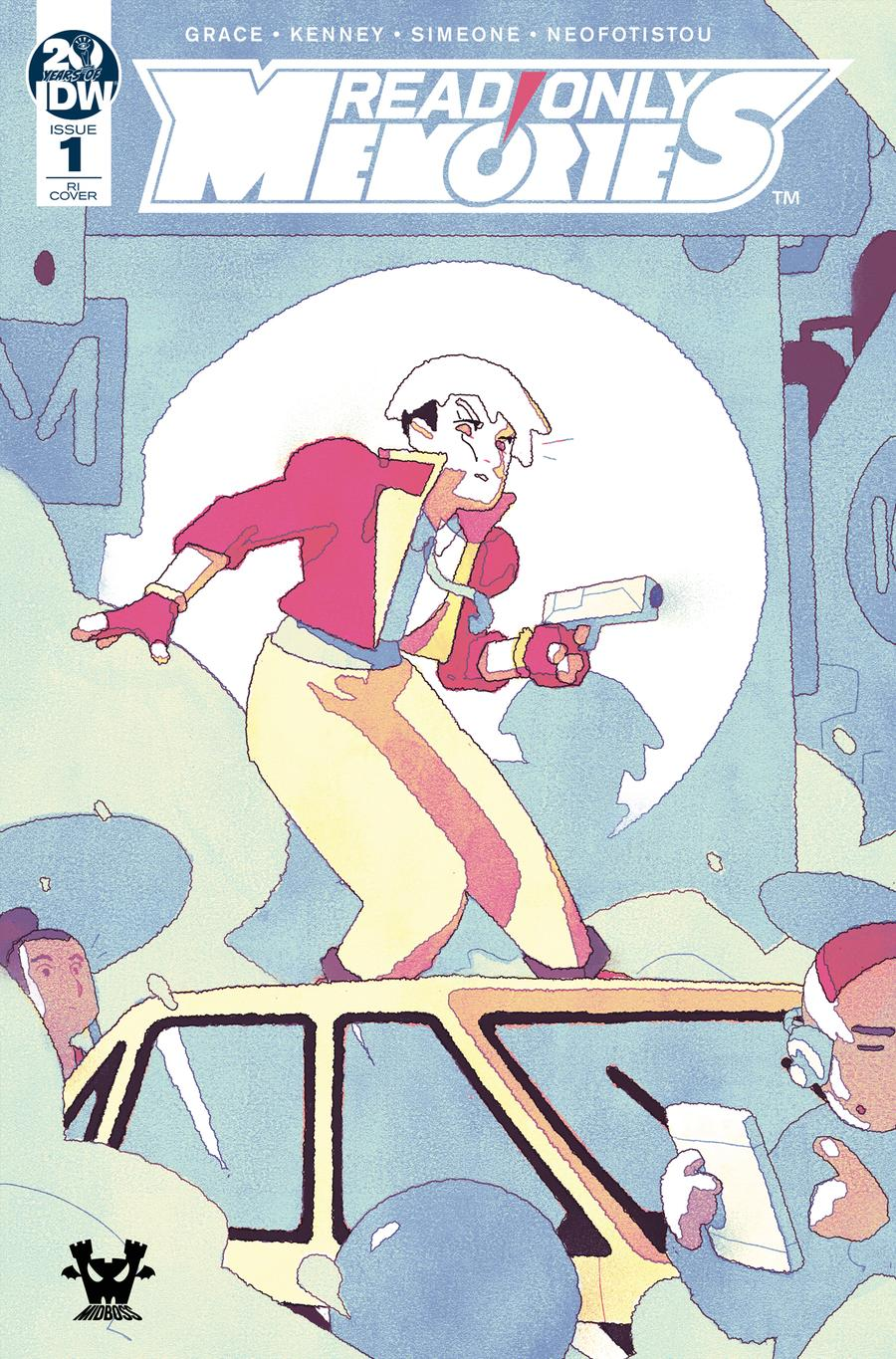 Read Only Memories #1 Cover C Incentive Kyle Smart Variant Cover