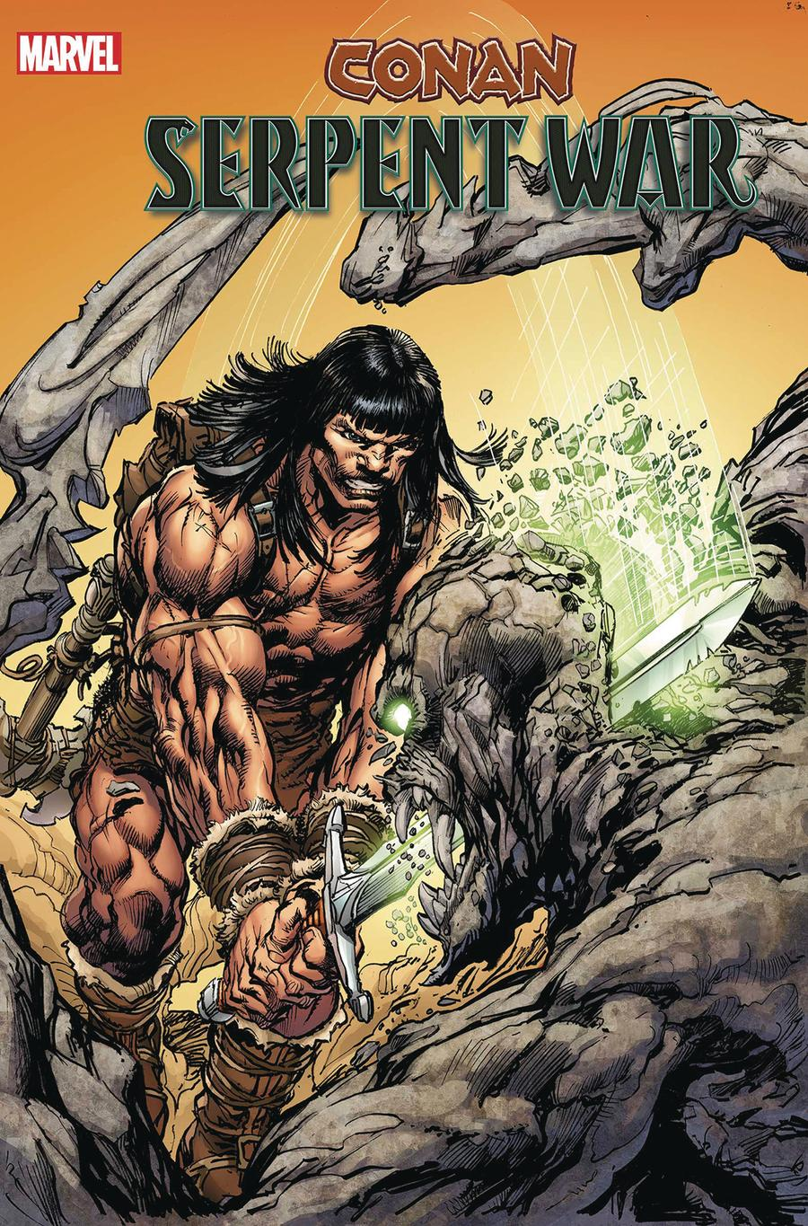 Conan Serpent War #1 Cover C Incentive Neal Adams Variant Cover