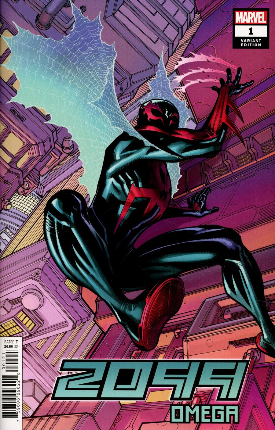 2099 Omega One Shot Cover C Incentive Nick Bradshaw Variant Cover