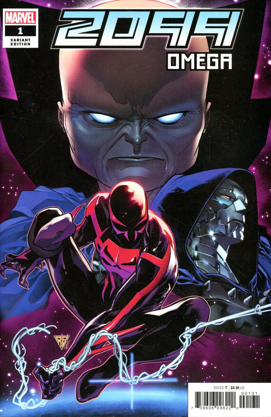 2099 Omega One Shot Cover B Incentive RB Silva Variant Cover