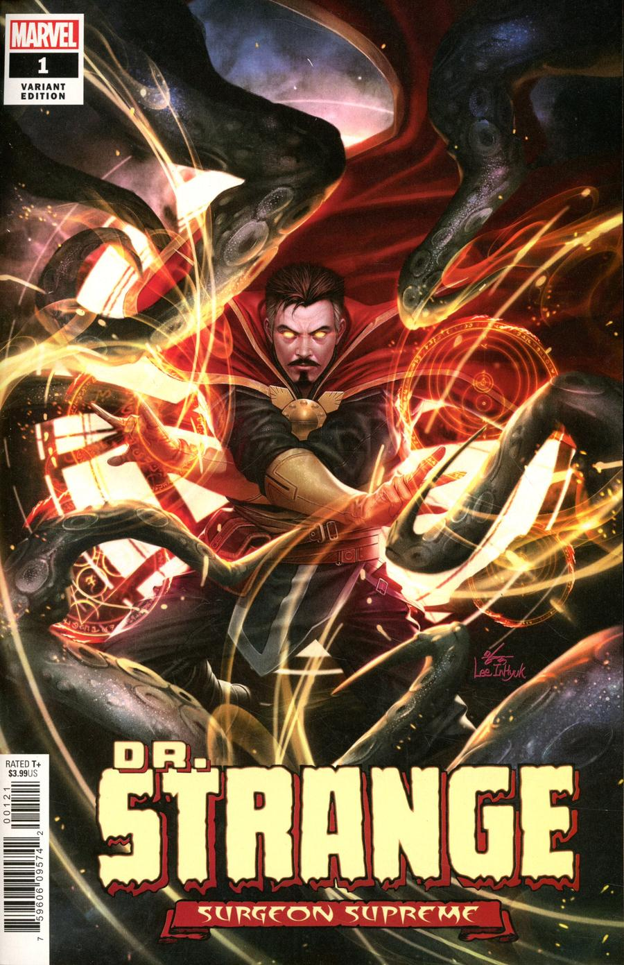 Doctor Strange Surgeon Supreme #1 Cover D Incentive Inhyuk Lee Variant Cover