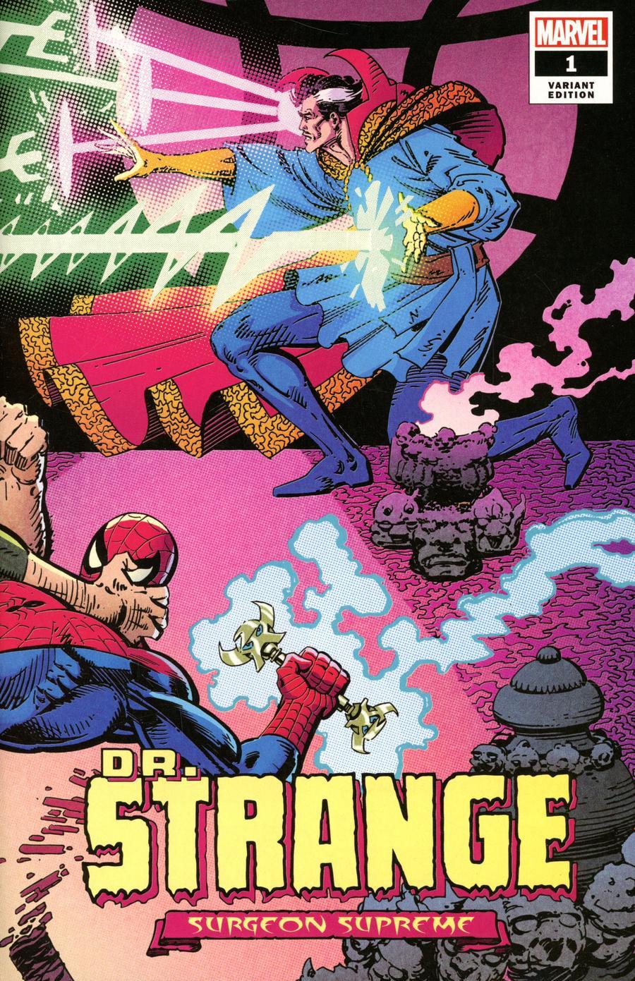 Doctor Strange Surgeon Supreme #1 Cover E Incentive Frank Miller Hidden Gem Wraparound Variant Cover