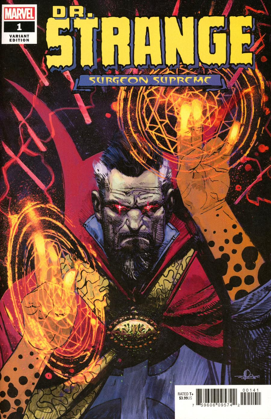Doctor Strange Surgeon Supreme #1 Cover C Incentive Gerardo Zaffino Variant Cover