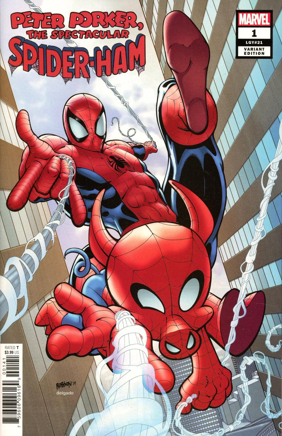 Spider-Ham #1 Cover C Incentive Will Robson Variant Cover