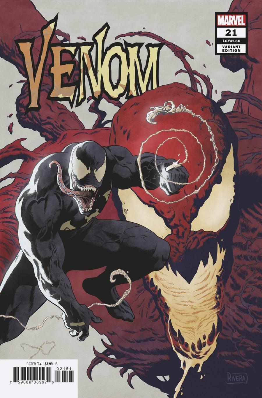 Venom Vol 4 #21 Cover E Incentive Paolo Rivera Variant Cover