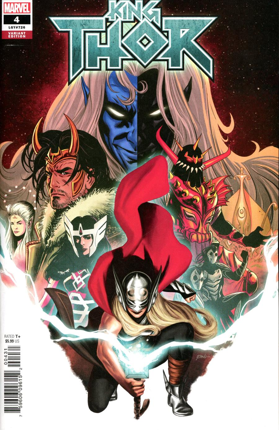 King Thor #4 Cover C Incentive Steve Epting Variant Cover