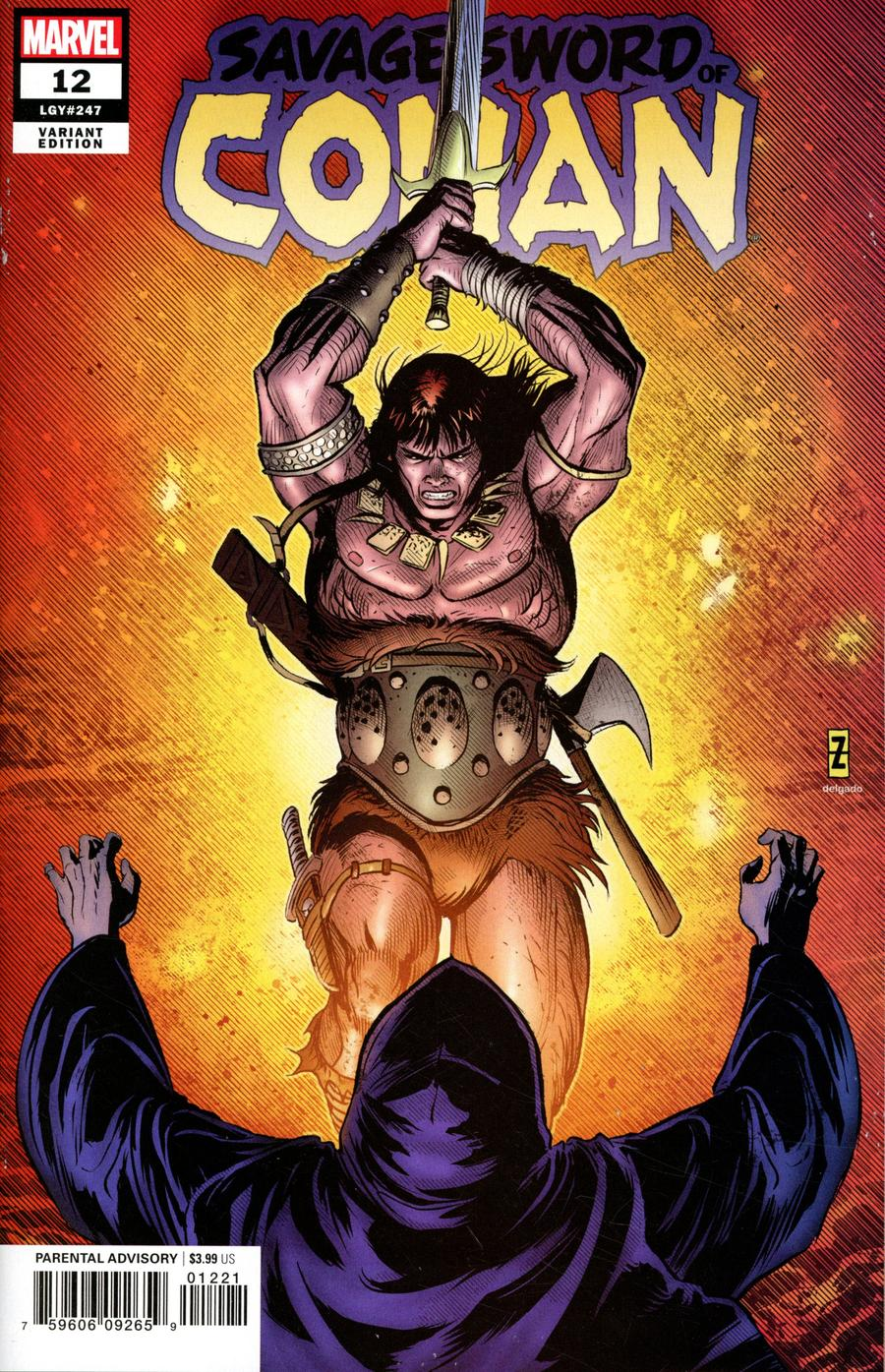 Savage Sword Of Conan #12 Cover B Incentive Patrick Zircher Variant Cover