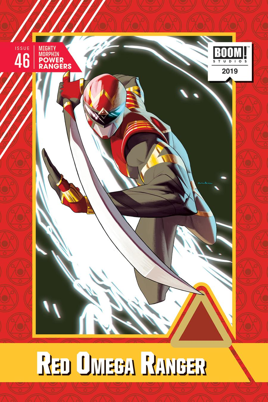 Mighty Morphin Power Rangers (BOOM Studios) #46 Cover D Incentive Kris Anka Variant Cover